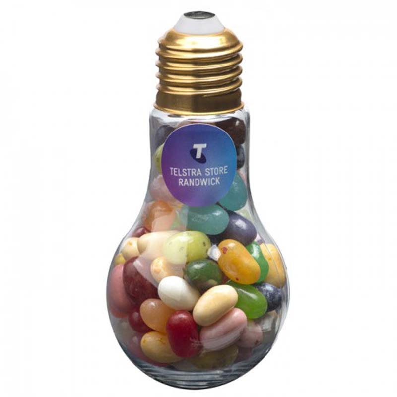 Light Bulb with Jelly Belly Jelly Beans