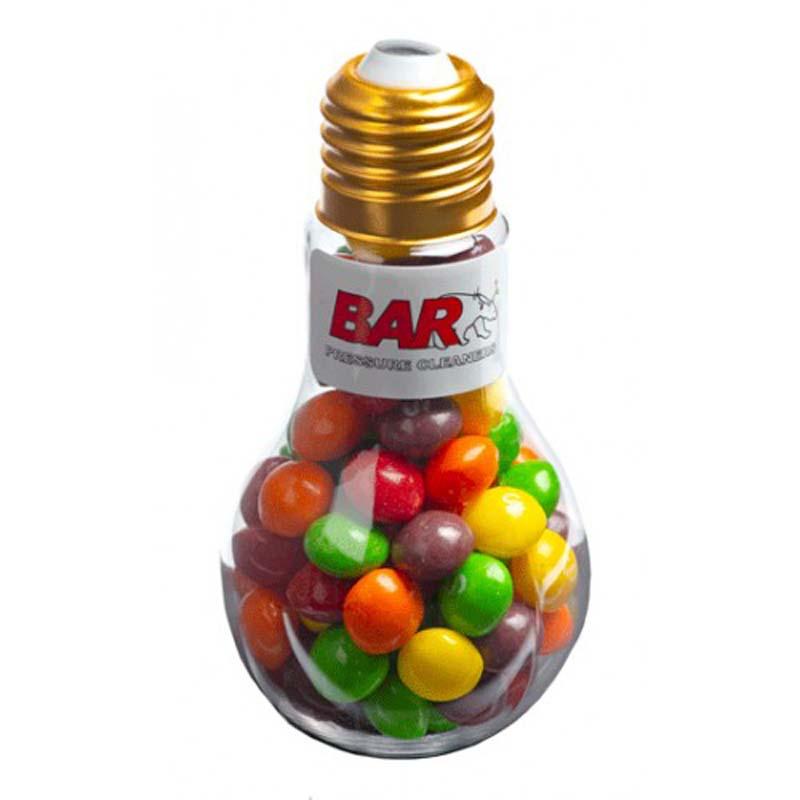 Light Bulb with Skittles 100g