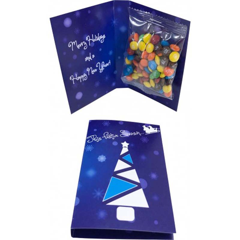 Gift Card with 25g M&M bag