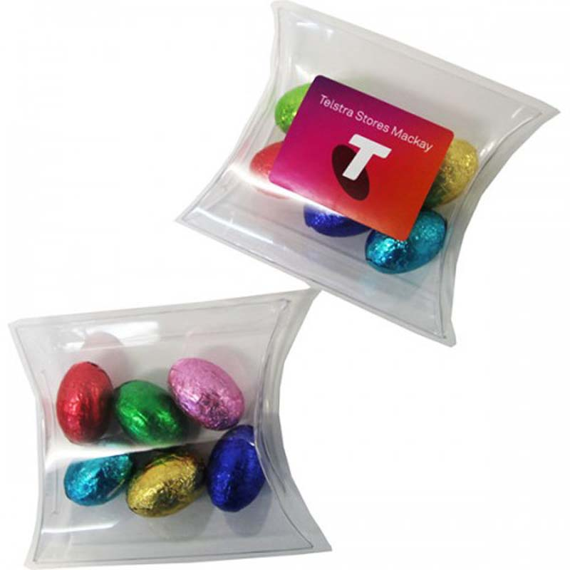 Easter Eggs placed in Pillow Pack x6