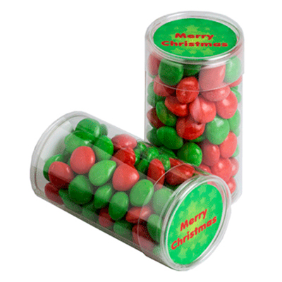 Pet Tube Filled With Christmas Chewy Fruits