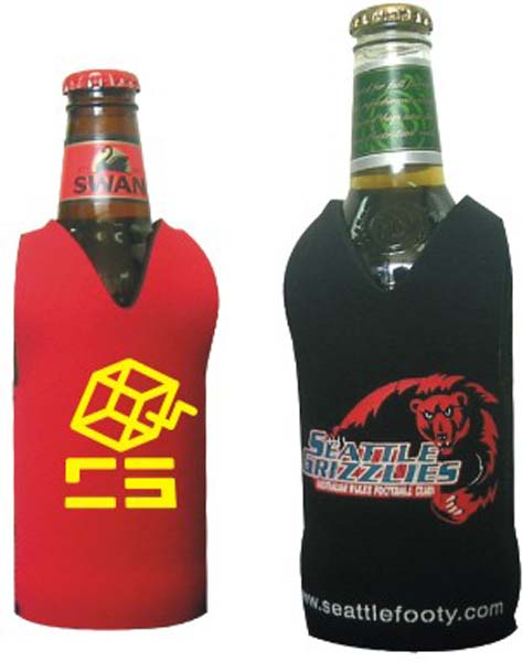 Footy Style Stubby Holder