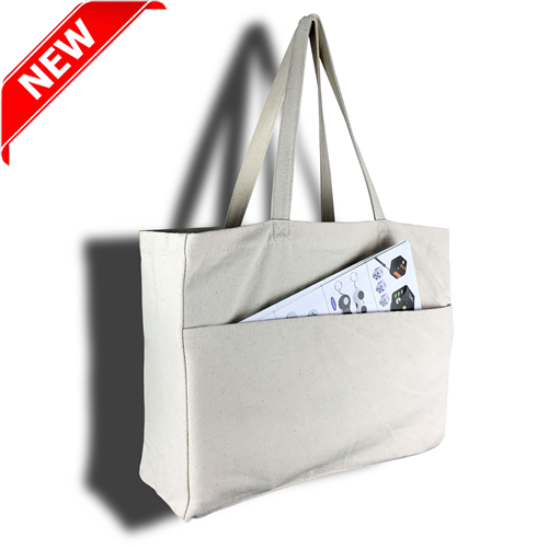 Delton Canvas Large Shopping Bag - China Direct