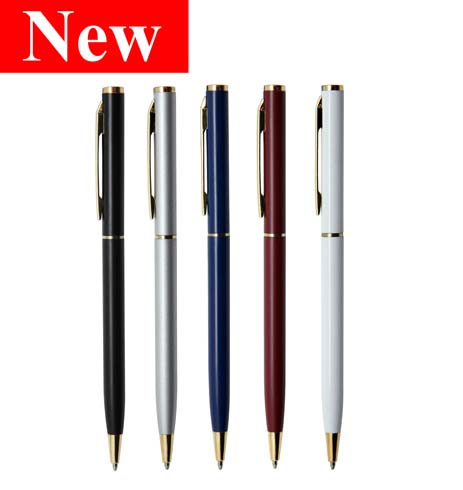 Berlino Gold Metal Pen