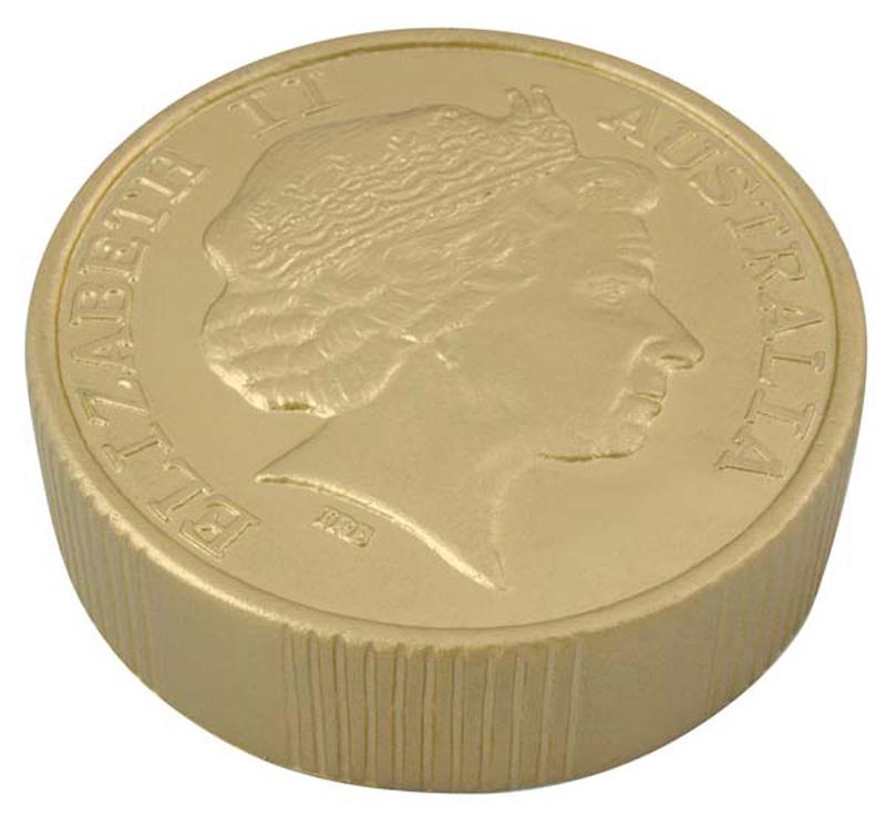 Stress Gold Coin