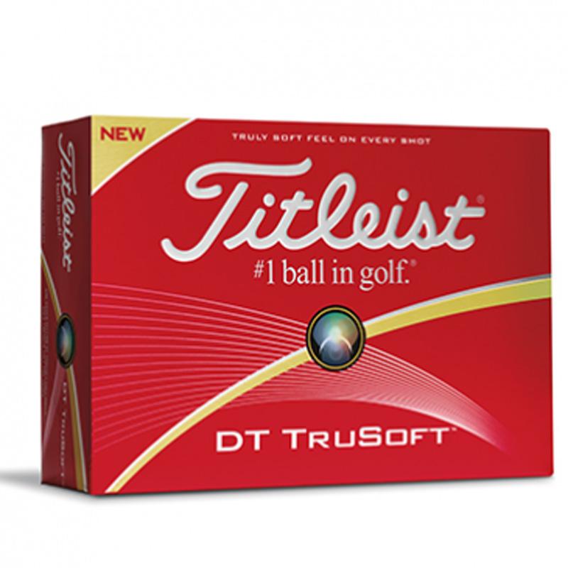 C - Grade - Titleist DT TruSoft - 3 ball sleeves