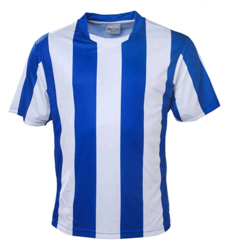 Striped Football Jersey