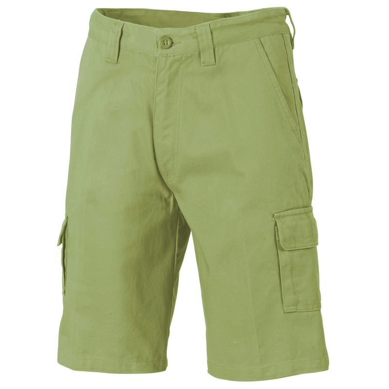 DNC Cotton Drill Cargo Shorts