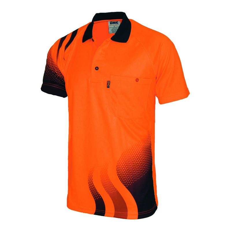 DNC Wave Sublimated Polo