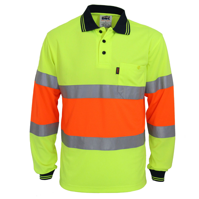 DNC Hi Vis Cool dry 2T Biomotion D/N Polo