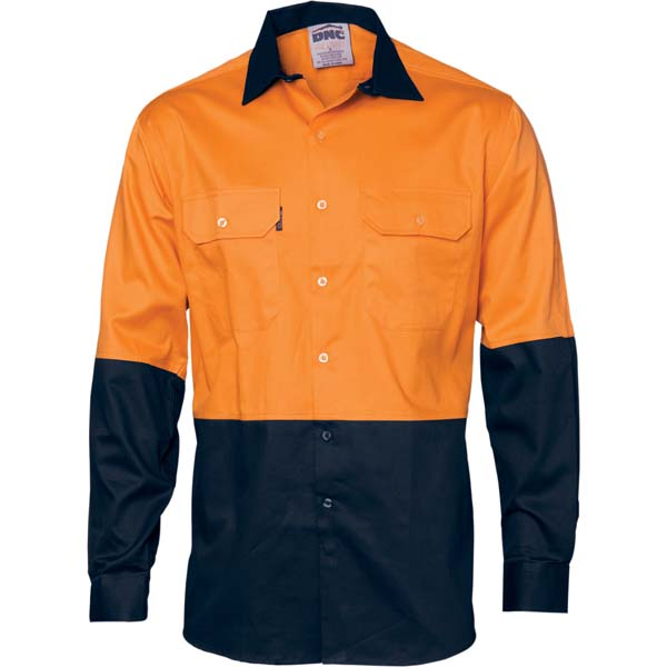 DNC Cool Breeze Vented Long Sleeve Shirt