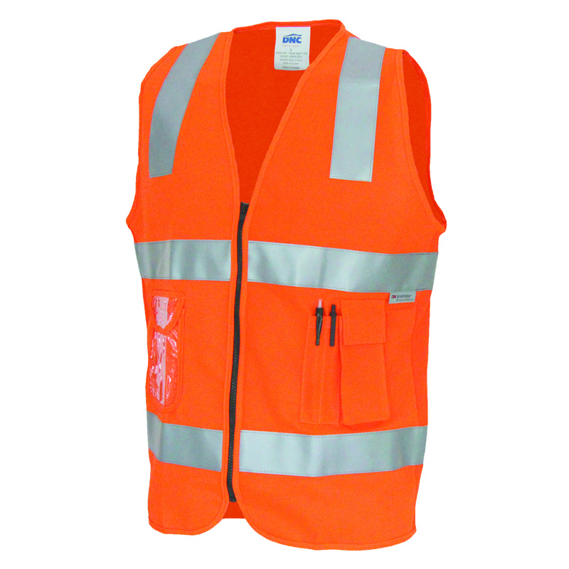 DNC Side Panel ID Pocket Day and Night Vest