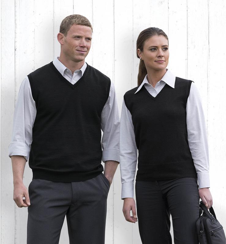 Merino Fully Fashiond Vest