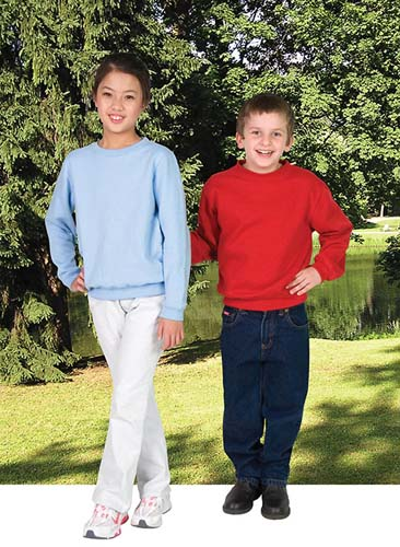 Kids Brushed Fleece Windcheater