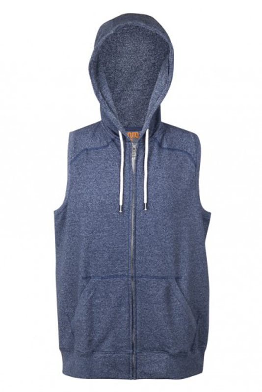 Greatness Zip Sleeveless Hoodie