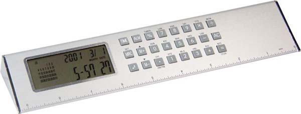 Pyramid World Clock/Ruler/Calculator