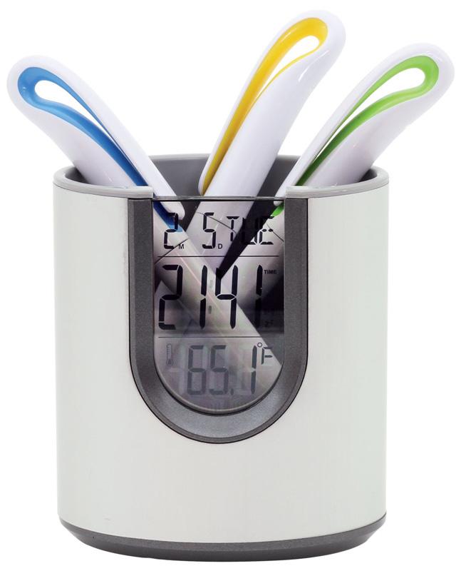 Orbit Pen Holder Clock
