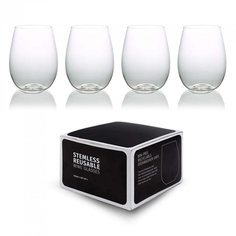 Stemless Tumbler Set