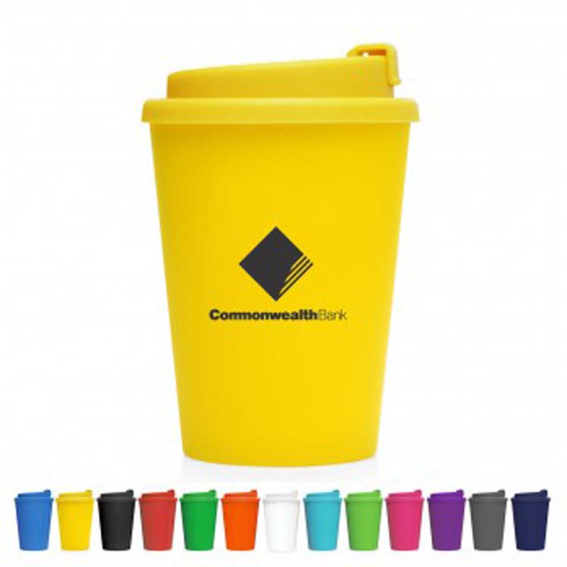 Eco Coffee Cup Plastic Double Wall