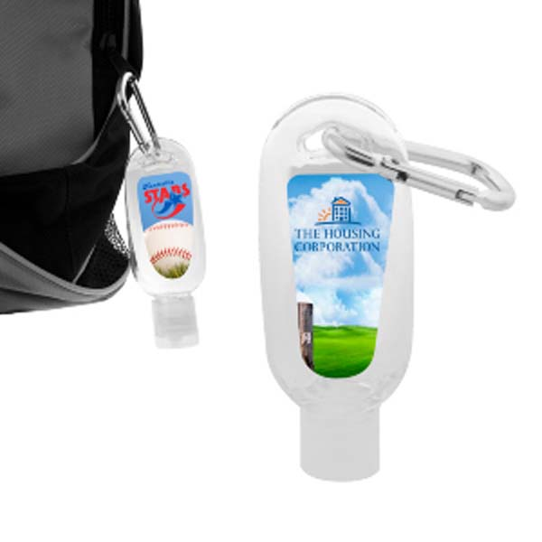 60ml Hand Sanitiser Gel with Carabiner