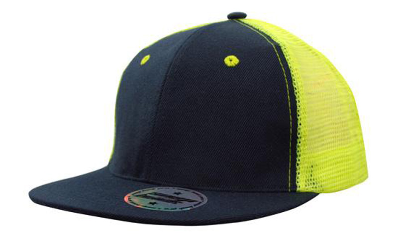 Hi Vis Mesh Snap Back