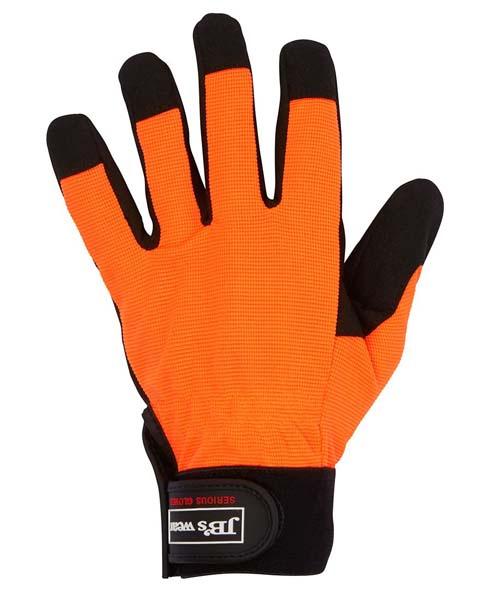 Padded Palm Mech Glove