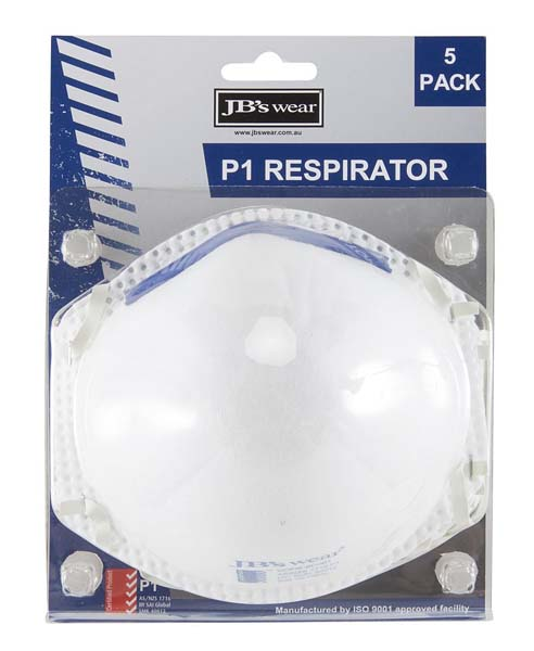 Blister 5pc P1 Respirator