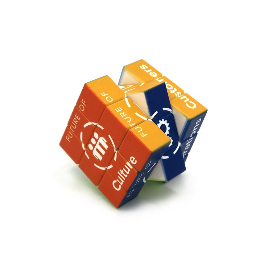 Custom logo Puzzle Cube