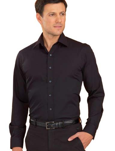 John Kevin Poplin Stretch Shirt