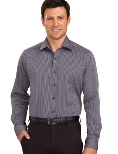 John Kevin Shadow Stripe Shirt