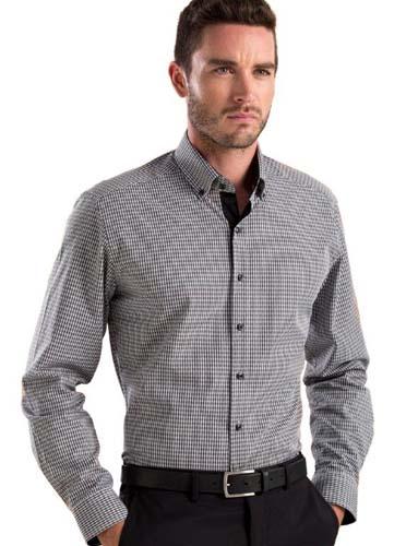 John Kevin Dobby Check Shirt