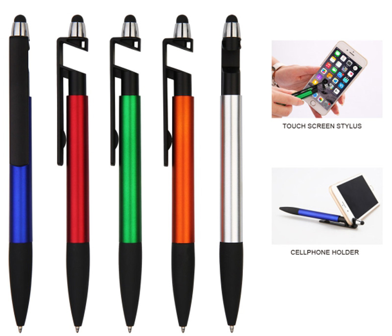 Stylus Pen With Mobile Phone Holder Plastic Pens Pens