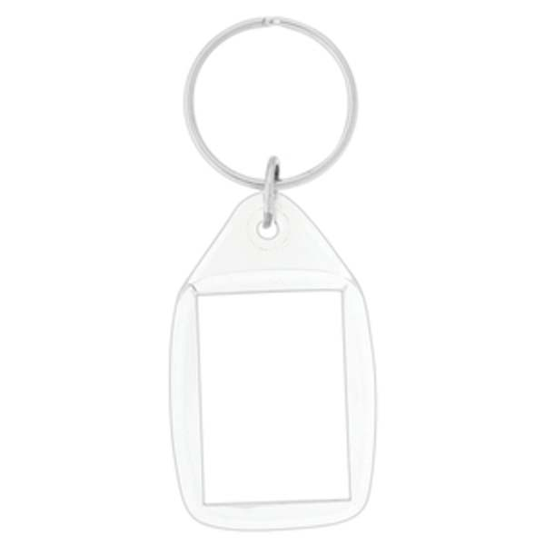 Tear Drop Acrylic Key Chain