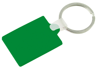 Rectangle PVC Keyring