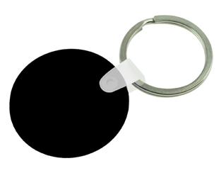 Round PVC Keyring