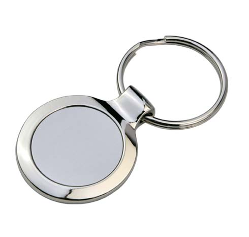 Discus Key Ring