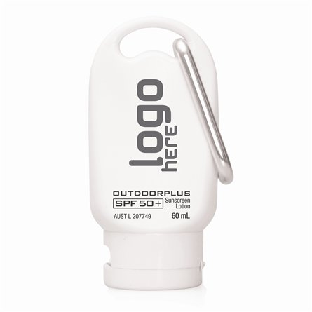 Sunscreen SPF 50+ Australian Made 60ml Carabiner