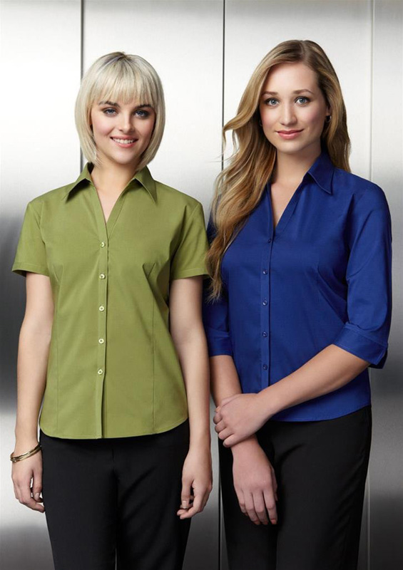 Ladies Metro Corporate  Stretch Shirt
