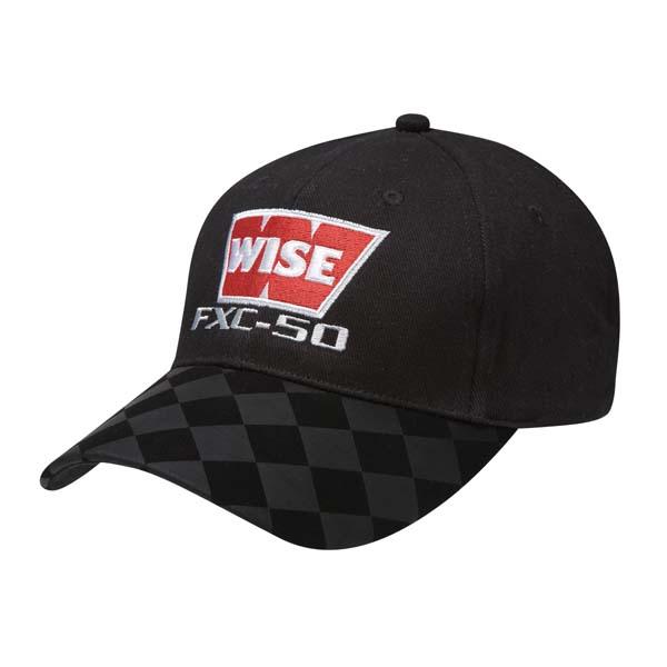 Two Tone Checker Cap