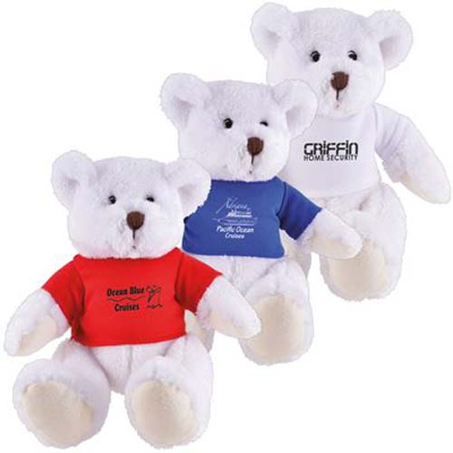 Frosty Plush Teddy Bear
