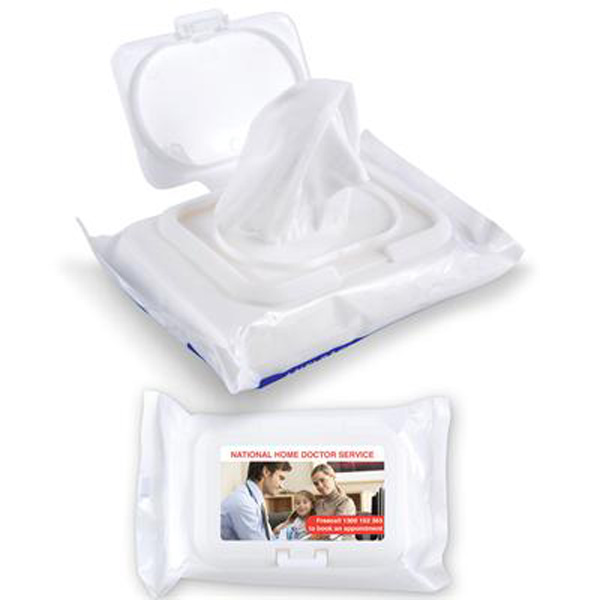 Anti Bacterial Wipes in Pouch