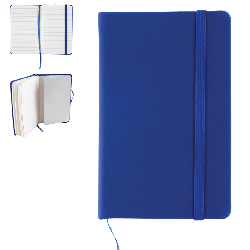 Notebook with Elastic Closure