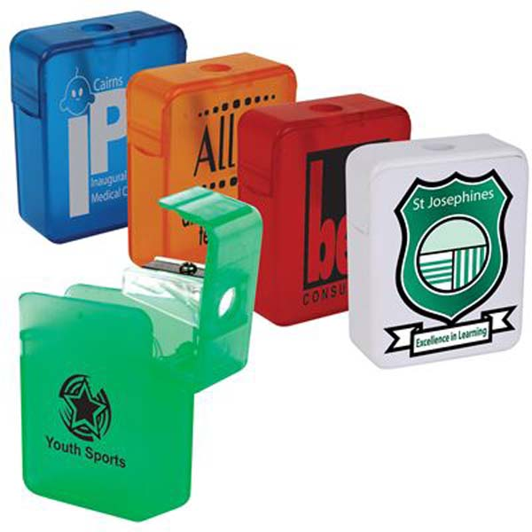 Promotional Rectangular Pencil Sharpener