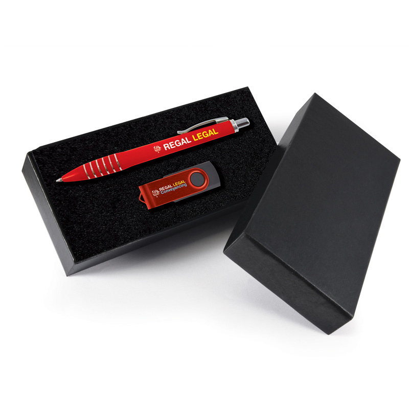Titan Pen and USB Gift Set