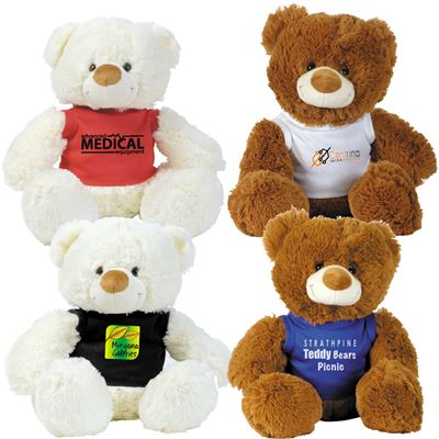 Coco (Brown) & Coconut (White) Plush Teddy Bear