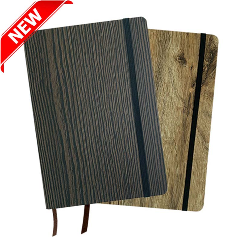 Wood Look Notebook