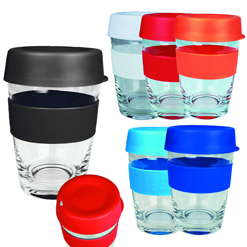 Glass Carry Cup