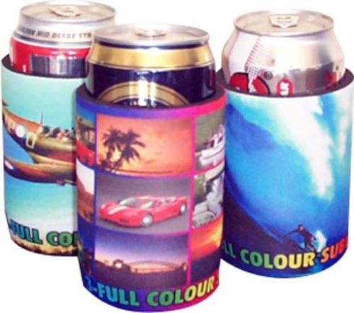 Full Colour Printed Stubby Holder