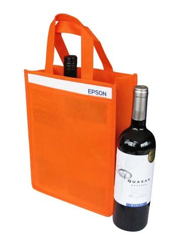 Non Woven 2 Bottle Bag