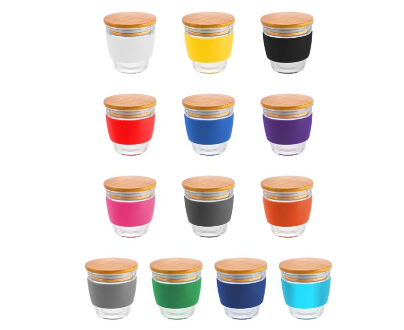 Small Glass Milano Coffee Cup